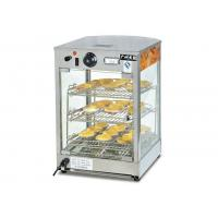 Quality 850W 220V Electric Hot Food Warmer Showcase, Countertop Pizza Warmer Display for sale
