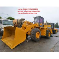 Quality Original Parts Tcm 870 Wheel Loader , Used Front End Loaders Low Working Hours for sale