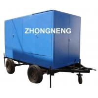 Quality ZYD-M-II Mobile type Insulation oil purification mounted on Double-Axle Trailer for sale