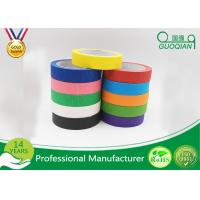"""1"""" x 60 Yards Crepe Paper Colored Masking Tape Set For Walls , Scrapbook Manufactures"""