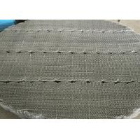 Metal Wire Mesh Structured Packing Column Without Channeling Of Liquid Manufactures