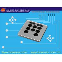 Waterproof Texture Push Button Membrane Switch Keypad With 3M9448 Adhesive Manufactures