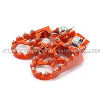 High Quality Wide CNC Aluminum Passenger Foot Pegs For Dirt Bike Manufactures