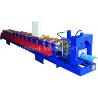 GI Colored Steel Cold Roll Forming Machine With Electric Tile Cutting Machine Manufactures