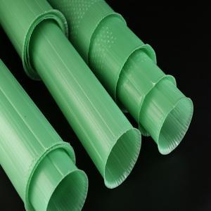 PP Corrugated Plastic Plant Guards Green Color UV Resistant 60cm Length Manufactures