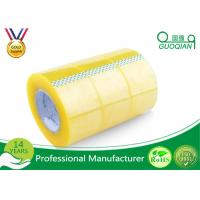 Pressure Sensitive BOPP Packing Tape Strong Adhesive Single Sided Clear Shipping Tape Manufactures