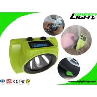 2.96W 18000lux 6.8Ah LED Wireless High Power Led Headlamp rechargeable headlamp for hard hat Manufactures