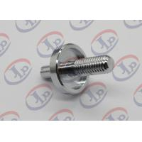 CNC Machining Turned Metal Parts Chromium Plated Iron Bolts With Slotted Manufactures