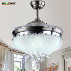 European Simple Design 42inch Ceiling Fan Light Blades Hidden Fan 2026 Manufactures