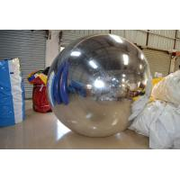 Delicate PVC Inflatable Mirror Ball Advertising Air Balloons For Party Manufactures