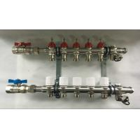 Underfloor Heating Systems House Water Manifold With EPDM O Ring Manufactures
