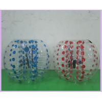 0.8mm PVC Inflatable Sports Games 1.2m 1.5m 1.8m Air Bumper Ball Body Zorb Ball Manufactures