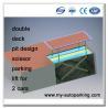 Scissor Underground Car Lift for Basement  Residential Pit Garage Parking Car Lift  Vertical Car Storage Manufactures