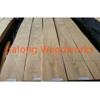Sliced Cut Oak Dyed Wood Veneer For Furniture , Eliminating Stain Manufactures