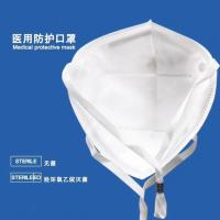 Surgical disposable facemask medical 3 layers medical facemask light blue/snow white Manufactures