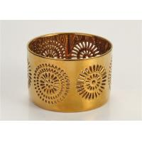 Environmental Home Interiors Candle Holders Ceramic For Decorated Manufactures