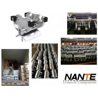 Galvanized Steel Ball Bearing Hardened I Beam Trolley For High Capacity Stowing System Manufactures