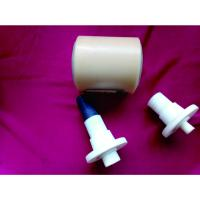 Dustproof Power Plant Nylon Conveyor Rollers With Shaft / Bearing Manufactures