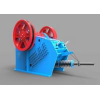 Heavy Duty Toggle Plate Jaw Crusher V Series Gabbros Hydraulic Crushing Machine Manufactures