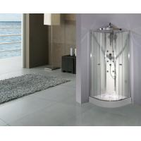 Cambered Free Standing Shower Cabins 2050 Height With Mutifunctional Shower Panel Manufactures