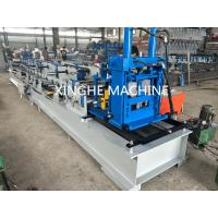 Quality Easy Installation Purlin Roll Forming Machine With 9.0 Tons Uncoiler Machine for sale