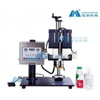 China Clip Rotary Screw Automatic Capping Machine High Speed PLC Control System on sale