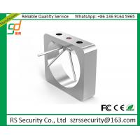 Counter Waist Height Access Turnstiles , Speed Gates With Barcode Reader System Manufactures