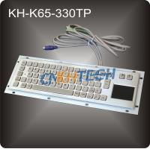 Vandal proof metal kiosk keyboard Manufactures
