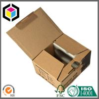Black Color Print Flex Corrugated Cardboard Packaging Box Screws Saddle Manufactures