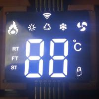 Buy cheap Ultra Thin Custom LED Display SMD White 7 Segment For Air Conditioner Controller from wholesalers