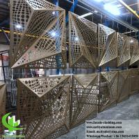 Buy cheap Folded 3D Aluminum Sheet Solid Aluminum Panels 3mm Powder Coated For Wall from wholesalers