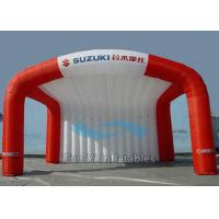 Heat Sealed Small Inflatable Stage Cover Tent For Outdoor Advertising Events Manufactures
