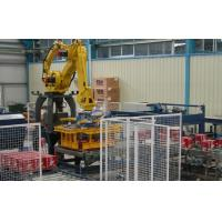 Food Beverage Robotic Packaging Machinery Wood / Plastic Pallet Type Manufactures
