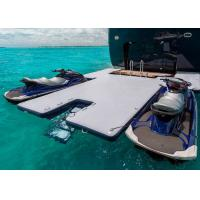 Buy cheap Durable Inflatable Yacht Slides Mega Dock , Jet - Ski Drive - On Blow Up Swim from wholesalers