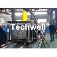 Steel Sheet Upright Rack Roll Forming Machine for Storage Shelf Profile Manufactures