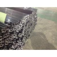 Black Oxidation Solar Panel Pole Mount / Solar Frames Aluminum Extrusions With 45° Beveling Manufactures