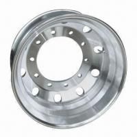 Forged aluminum alloy truck wheel with 10 bolt holes and competitive price Manufactures