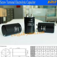 400V 1000uF Capacitor Screw Bolt Terminal Aluminum Electrolytic Capacitor RoHS Compliant Manufactures