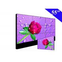 China Full HD 55 Inch LCD Video Wall 16.7M Color 700Nits For KTV TV Background Stage on sale