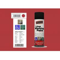 AEROPAK 500ML Line Marking mars red Spray Paint for wall with SGS Manufactures