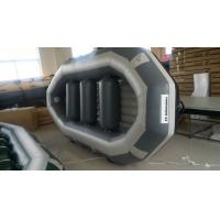 OEM Eight Person 0.9mm PVC Fabric Inflatable Raft Party Boat With 500cm Length Manufactures