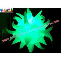 LED RGB Color Changing Inflatable Lighting Decoration Star With Remote Control Manufactures