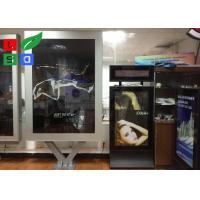 Quality Voice Function Outside Advertising Light Box Bus Station Scrolling Billboard for sale