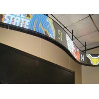 Bendable Module Flexible Led Display Panels 120° Veiwing Angle High Brightness Manufactures