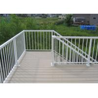 High Performance Exterior Aluminum Stair Railings Corrosion Resistance For Balcony Manufactures