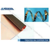 High Performance Rolled Annealed Copper Foil  ,  Thin Copper Foil for Laminating Manufactures