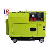 China Top Mounted Fuel Tank Diesel Generator 5KW Portable Low Operating Temperature on sale