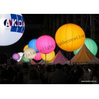 Colorful Inflatable Lighting Decoration Standing Ball advertising Tripod Ball Manufactures