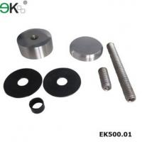 stainless glass standoff bracket ,advertising screw EK500.01 Manufactures