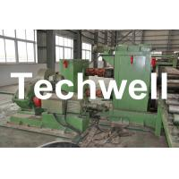 Horizontal Steel Cut To Length Machine Line To Cut Carbon Steel / Stainless Steel Coils Manufactures
